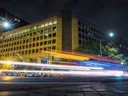 FBI-Hauptquartier in Washington: FBI-Mitarbeitende beklagen, dass sich der Shutdown negativ auf ihre Arbeit auswirkt. (Bild: KEYSTONE/AP/J. DAVID AKE)