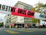 Der Vorfall in dieser Strasse in Genf führte zur Schliessung des US-Konsulats. (Bild: KEYSTONE/MAGALI GIRARDIN)