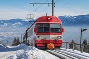 Knapp acht Kilometer: Die Altstätten-Gais-Bahn hat die längste Strecke der drei gefährdeten Zahnradbahnen. (Bild: Michel Canonica)