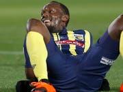 Sprint-Legende Usain Bolt spielte vorübergehend in der australischen A-League Fussball. (Bild: Keystone/AP/STEVE CHRISTO)