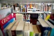 Immer weniger Bücher und andere Medien gehen gegen eine Gebühr über den Tresen in Bibliotheken. (Bild: Keystone)
