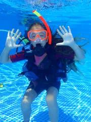 Der Wassersporttag ist jeweils sehr gut gebucht, wohl auch wegen des Tauchens mit kompletter Ausrüstung. (Bild: APZ)