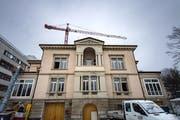 Die Villa Jacob neben dem Alters- und Pflegeheim Josefshaus. (Bild: Michel Canonica - 24. Januar 2019)