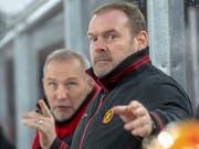Langnaus Trainer Heinz Ehlers erhält für die kommende Saison zwei Stürmer aus der Swiss League (Bild: KEYSTONE/MARCEL BIERI)