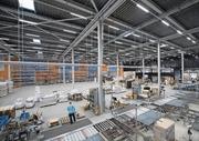 Blick in das Logistikzentrum von Meier Tobler in Nebikon. (Bild: Pius Amrein, 8. August 2017)