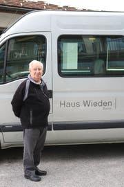 Geschätzt für seine freiwillige Arbeit zugunsten des Haus Wieden, Buchs: Werner Leitner, bewährter Chauffeur und Begleiter. (Bild: PD)