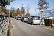 Die Seepromenade zwischen Benzeholzplatz und Fridolin-Hofer-Platz soll attraktiver werden. (Bild: Manuela Jans-Koch (Meggen 25. Januar 2019))