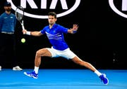Der überlegene Novak Djokovic trifft im Final auf Rafael Nadal. (Chryslene Caillaud/freshfocus)