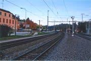 Im Jahr 2018 erneuert: die elektrischen Anlagen im «Dreispitz» beim Bahnhof Sulgen. (Bild: Monika Wick)