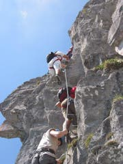 «Bergsteigen ist eine relativ gefährliche Sache» – das sagte der Gerichtspräsident bei der Verhandlung. (Symbolbild: sasa)