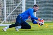 Hechtet weiter für den FC Luzern: David Zibung, hier im Trainingslager in Spanien. (Bild: Martin Meienberger/Freshfocus (Marbella, 12. Januar 2018))
