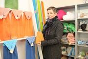 Ursula Friedrich in ihrem neuen Geschäftslokal. (Bild: Patricia Helfenstein-Burch (Sarnen, 24. Januar 2019))