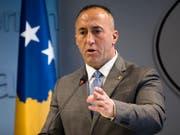 Kosovos Regierungschef Ramush Haradinaj hält ein Abkommen zur Normalisierung der Beziehungen zu Serbien in diesem Jahr für möglich. (Bild: KEYSTONE/AP/VISAR KRYEZIU)
