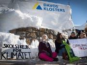 Die 16-jährige schwedische Klimaaktivistin Greta Thunberg zeigt sich ernüchtert nach ihren Erfahrungen am WEF2019. (Bild: KEYSTONE/LAURENT GILLIERON)