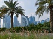 In der Hauptstadt Katars, Doha, haben sich Unterhändler der USA und den Taliban getroffen, um eine Lösung für Frieden in Afghanistan zu finden. (Bild: KEYSTONE/EPA/STR)