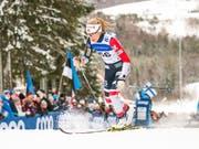 Therese Johaug holt mit der norwegischen Staffel den nächsten Sieg (Bild: KEYSTONE/AP/RAUL MEE)