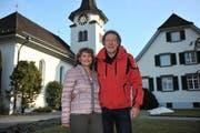 Pfarrer Reinhard Eisner mit seiner Frau Belinda. (Bild: Urs Hanhart (Altdorf, 25. Januar 2019))