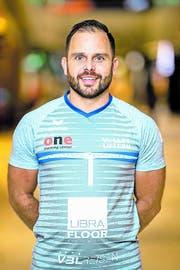 bei Volley Luzern Libero und Sportchef in Personalunion: Jörg Gautschi. (Bild: PD)