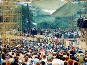 Für den 73-jährigen Rockmusiker Neil Young spiegelte die Musik am legendären Woodstock Festival 1969 noch ein Lebensgefühl. (Bild: KEYSTONE/AP)