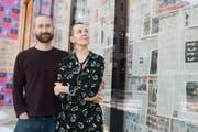 Zwei estnische Regisseure – Ene-Liis Sempre und ihr Mann Tiit Ojasoo – inszenieren am Luzerner Theater. (Bild: Boris Bürgisser, 25. Januar 2019)