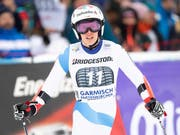 Für die Kombinations-Olympiasiegerin Michelle Gisin ist die Saison noch vor der WM vorbei (Bild: KEYSTONE/EPA/LUKAS BARTH-TUTTAS)
