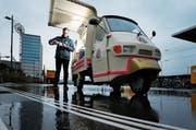 Der Betreiber Benno Stäheli hat bereits angekündigt, das Kaffeemobil weiterführen zu wollen. (Bild: Stefan Kaiser (Rotkreuz, 8. Januar 2019))