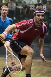 Bereit, noch einmal ganz auf Squash zu setzen: Der Krienser Cédric Kuchen. Bild: Stefan Kleiser