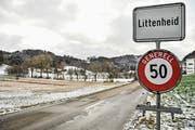 Der Kanton will die Hügel rund um das Klinikdorf Littenheid als Windenergiegebiet in den Richtplan aufnehmen. (Bild: Olaf Kühne)