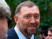 Die USA haben Sanktionen gegen Unternehmen im Besitz des russischen Oligarchen Oleg Deripaska gelockert - Strafmassnahmen gegen ihn persönlich bleiben allerdings in Kraft. (Bild: KEYSTONE/AP/ALEXANDER ZEMLIANICHENKO)