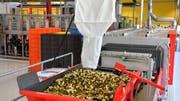 Blick in die Produktionshalle der Fabrik Saltech. (Bild: Bruno Kissling)