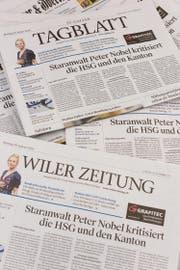 Längst nicht mehr alle Gemeinden informieren in der gedruckten Tageszeitung. (Bild: Thomas Hary)