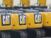 Der US-Baumaschinenhersteller Caterpillar hat im letzten Quartal des vergangenen Jahres weniger verdient als dies die Anleger erwartet haben. Das Geschäft in China leidet unter dem Handelsstreit. (Bild: KEYSTONE/EPA/JULIEN WARNAND)