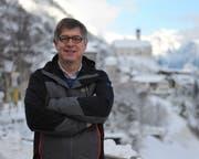 Felix Ziegler: «Wassen darf nicht einfach nur auf den Sawiris-Effekt hoffen.» (Bild: Urs Hanhart (Wassen, 15. Januar 2019))