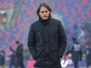 Filippo Inzaghi wurde nach der Niederlage gegen Frosinone entlassen (Bild: KEYSTONE/EPA ANSA/GIORGIO BENVENUTI)