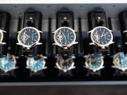 Das Jahr 2018 war ein gutes Jahr für die Schweizer Uhrenindustrie gewesen. Getrieben von der Konsumlust in China kletterten die Uhrenexporte zurück über die 20-Milliardenschwelle. (Bild: KEYSTONE/GAETAN BALLY)