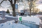 Am 18. Februar beginnt an der Universität St.Gallen das Frühjahrssemester. (Bild: Urs Bucher)