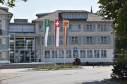 Im Kirchberger Gemeindehaus kann man sich über ein gutes Steuerjahr freuen. (Bild: Ruben Schönenberger, 6. August 2018)