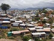 Für die Rohingya-Flüchtlinge in Bangladesch erhielt die Glückskette 11,7 Millionen Franken Spenden. (Bild: Keystone/EPA/MONIRUL ALAM)