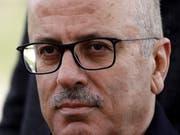 Die Regierung von Ministerpräsident Rami Hamdallah hat ihren Rücktritt bei Präsident Mahmud Abbas eingereicht. (Bild: KEYSTONE/EPA/ABED AL HASHLAMOUN)