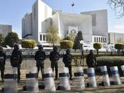Das Oberste Gericht in Islamabad hat einen Berufungsantrag gegen den Freispruch der Christin Asia Bibi für unzulässig erklärt. (Bild: KEYSTONE/EPA/T. MUGHAL)