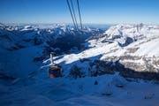 Die Titlis Bergbahnen präsentieren erfreuliche Zahlen zum Geschäftsjahr 2017/18. (Bild: Alexandra Wey / Keystone)