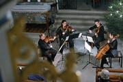 Das Collegium Musicum Zug bei seinem Neujahrskonzert in der Liebfrauenkapelle. (Bild: Stefan Kaiser (Zug, 2. Januar 2019))