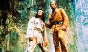 Pierre Brice und Lex Barker als Winnetou und Old Shatterhand in «Der Schatz im Silbersee». (Bild: PD)
