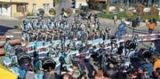Feiert heuer Jubiläum: Die Azmooser Gugga Moosfürz mit 43 Mitgliedern. (Bild: PD)