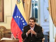 Der venezolanische Präsident Nicolás Maduro hat sich für vorgezogene Neuwahlen ausgesprochen. (Bild: KEYSTONE/EPA MIRAFLORES PRESS/MIRAFLORES PRESS / HANDOUT)