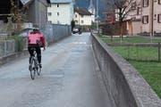 Die Leonhardstrasse in Erstfeld ist dringend sanierungsbedürftig. (Bild: Paul Gwerder (16. November 2018))