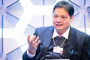 Der indonesische Industrieminister Airlangga Hartarto vergangene Woche am Weltwirtschaftsforum in Davos (Bild: Manuel Lopez/PD (24. Januar 2019))
