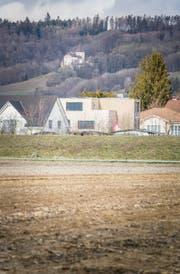 Der Exerzierplatz wird heute als Acker genutzt. Bei Hochwasser wird er überflutet bis zum Damm, der ihn gegen das Weinfelder Zentrum abgrenzt. (Bild: Andrea Stalder)