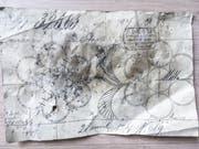 Ein Stickermuster von 1888 zeugt vom ursprünglichen Zweck des 1878 erstellten heutigen Vereinshauses. Bild: PD