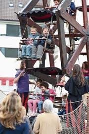Bereits vor vier Jahren lockte das Mittelalterfest rund 20 000 kleine und grosse Besucher an. (Bild: Maria Schmid (26. September 2015))